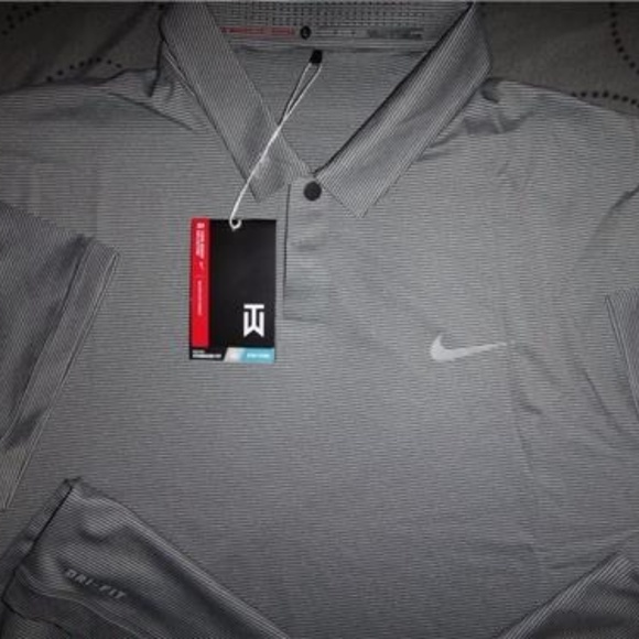 e8856742 Nike Shirts | Tiger Woods Collection Golf Drifit Polo Nwt | Poshmark